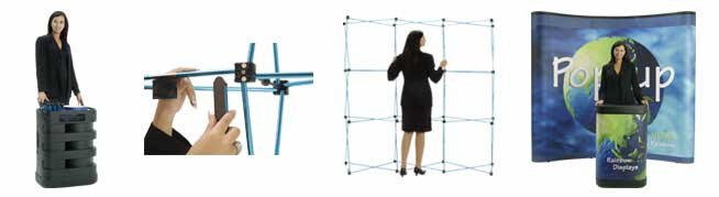 Popup expandable display systems